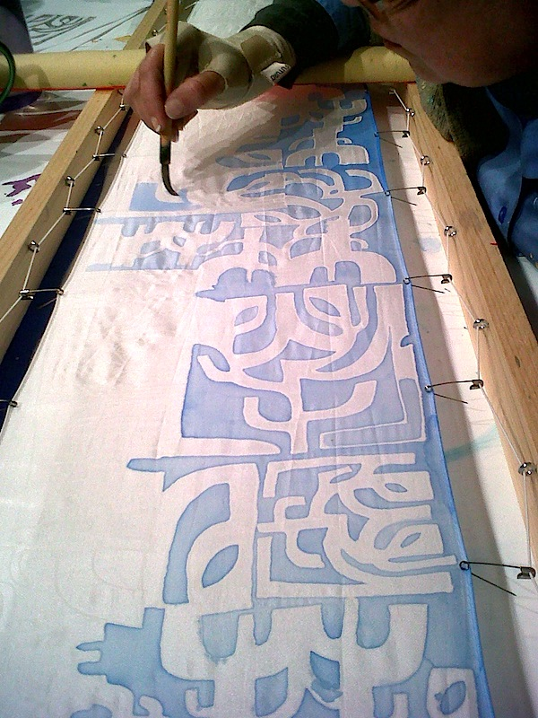 How To Make Gutta For Silk Painting